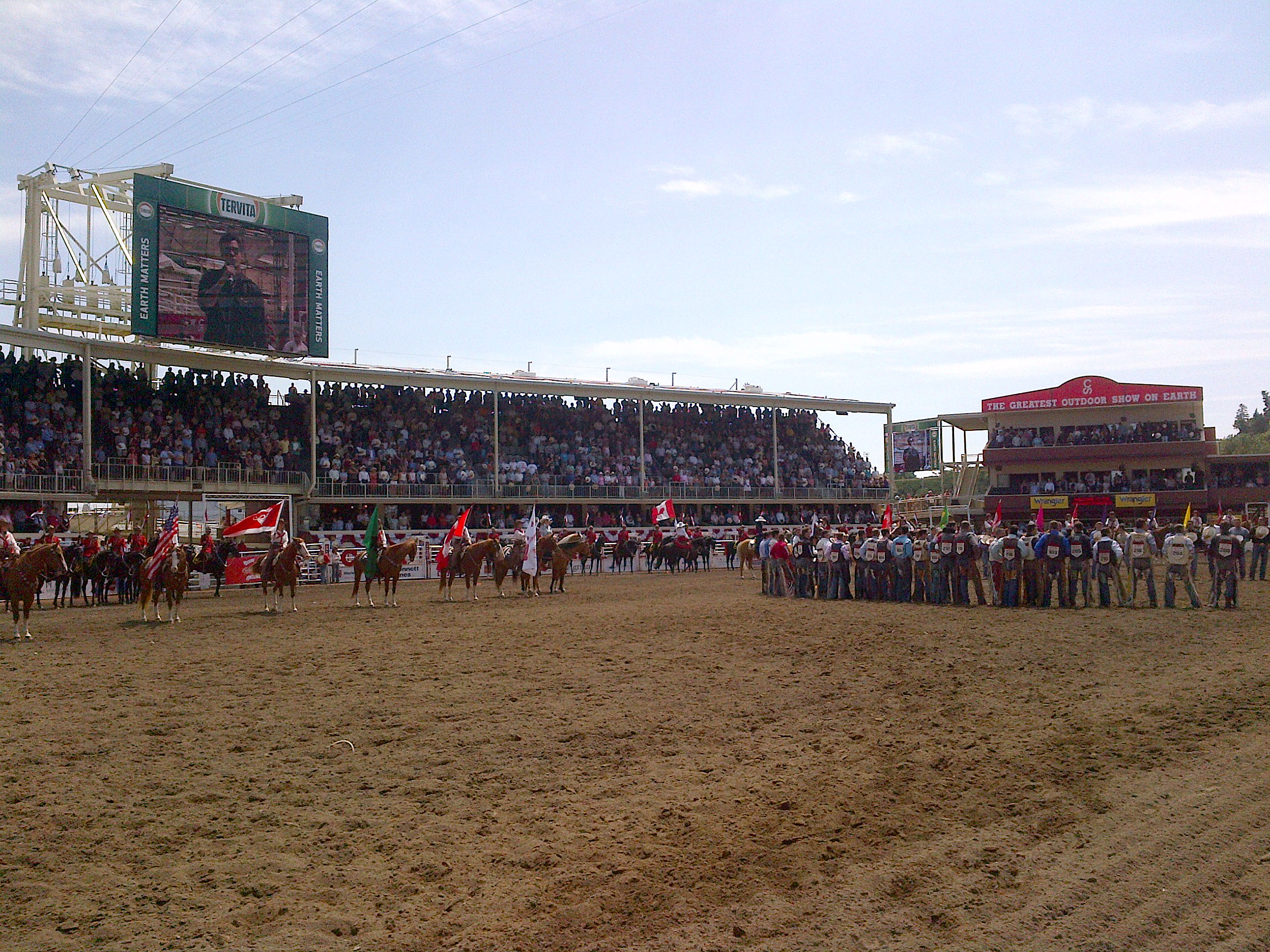 Celebrating Together At The Calgary Stampede Rural Route