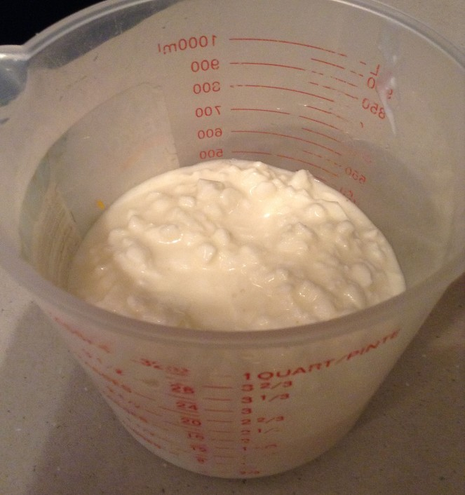 Cottage cheese.