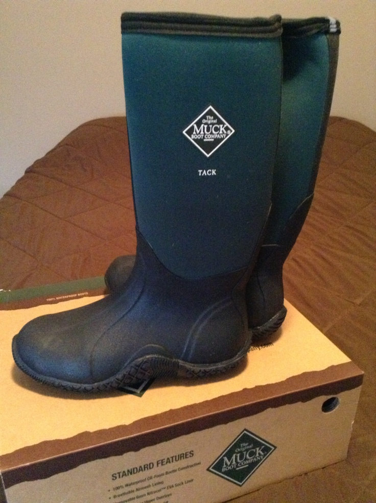 My new Original Muck boots!