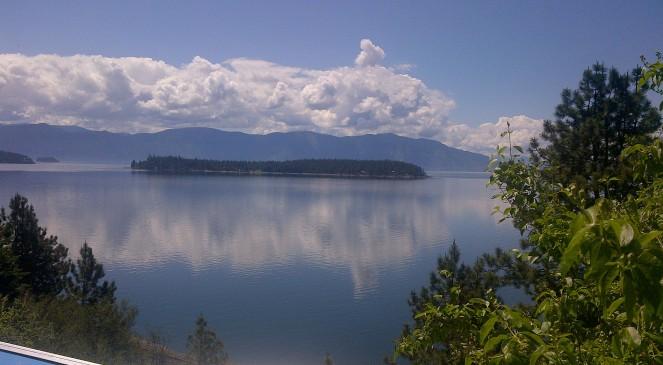 Lake Pend Oreille in Idaho.