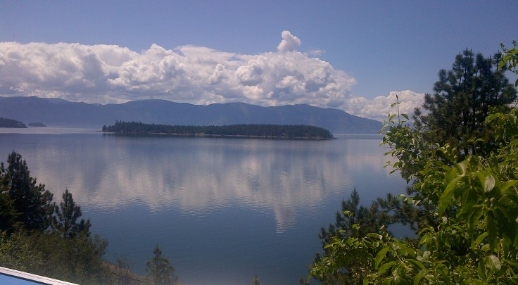 Lake Pend Oreille in Idaho.