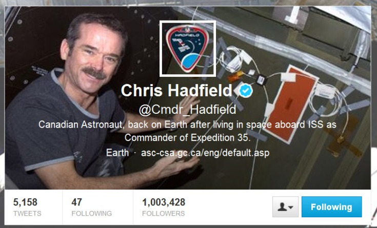 Cmdr_Hadfield_Twitter_page