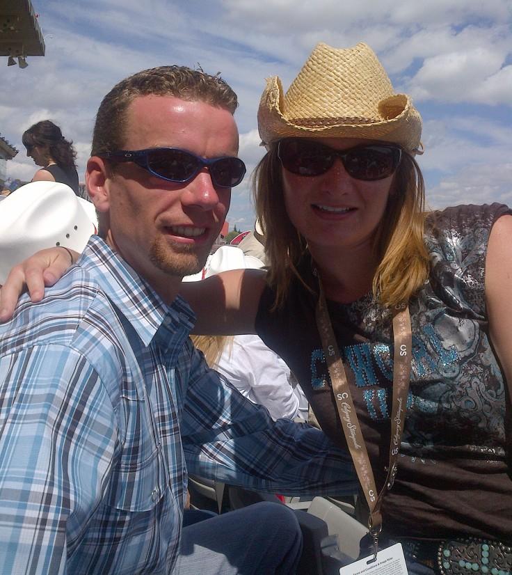 Enjoying some rodeo action!