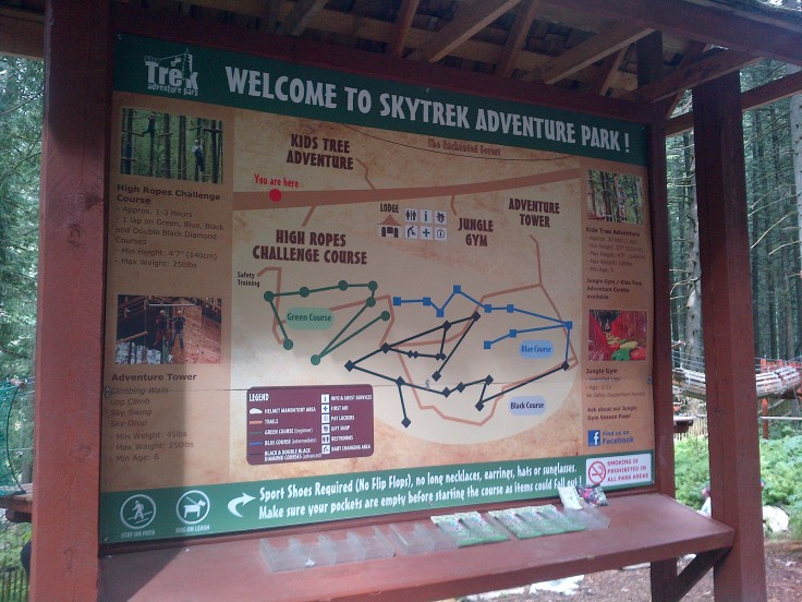 Welcome to SkyTrek Adventure Park!