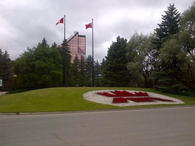 Royal Canadian Mint in Winnipeg.