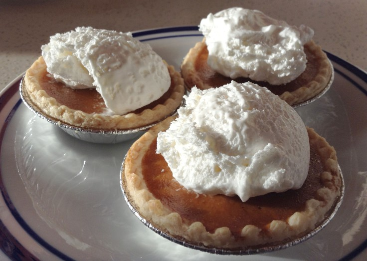With a dollop of whipped cream. Yum!