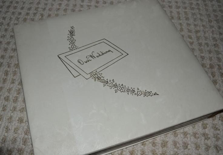 An album full of memories. My parents wedding photos.