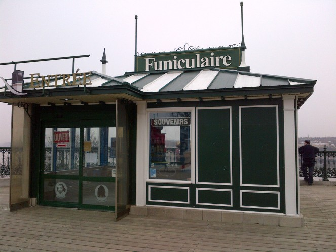 Quebec City's Funiculaire.