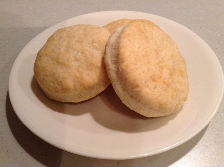 Delicious homemade biscuits.