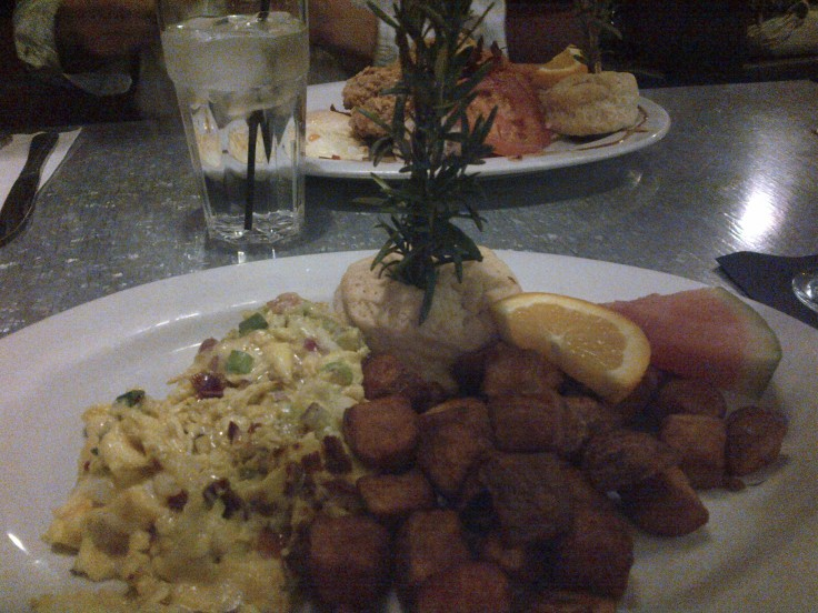 In a previous blog post on Las Vegas I mentioned eating breakfast at Hash House a Go Go in The Quad. I highly recommend this place. They serve large portions and the food is excellent.