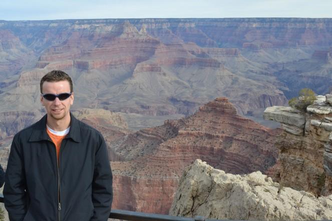 At the Grand Canyon.