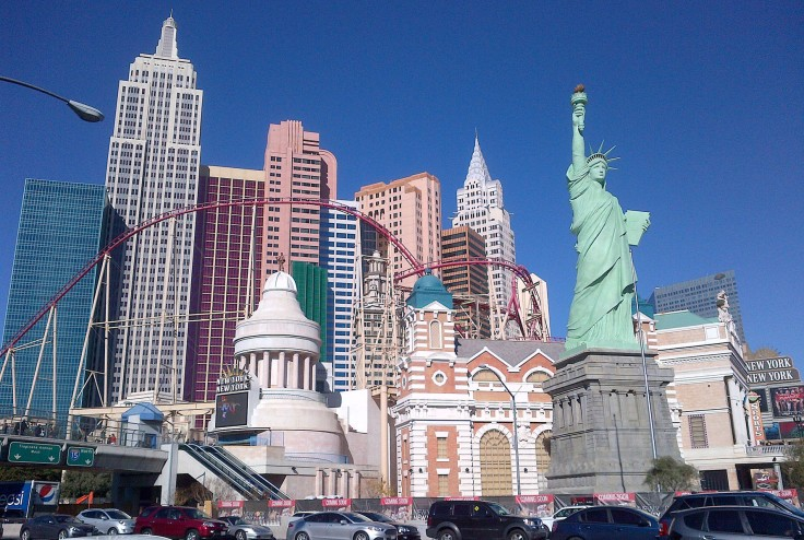 New York, New York is always popular. Perhaps because it has a fun roller coaster through it.