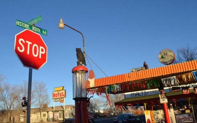 Take the time to drive historic Route 66 and make some stops along the way.
