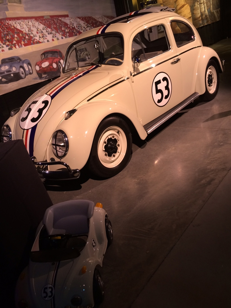 And who can forget Herbie, the Love Bug.