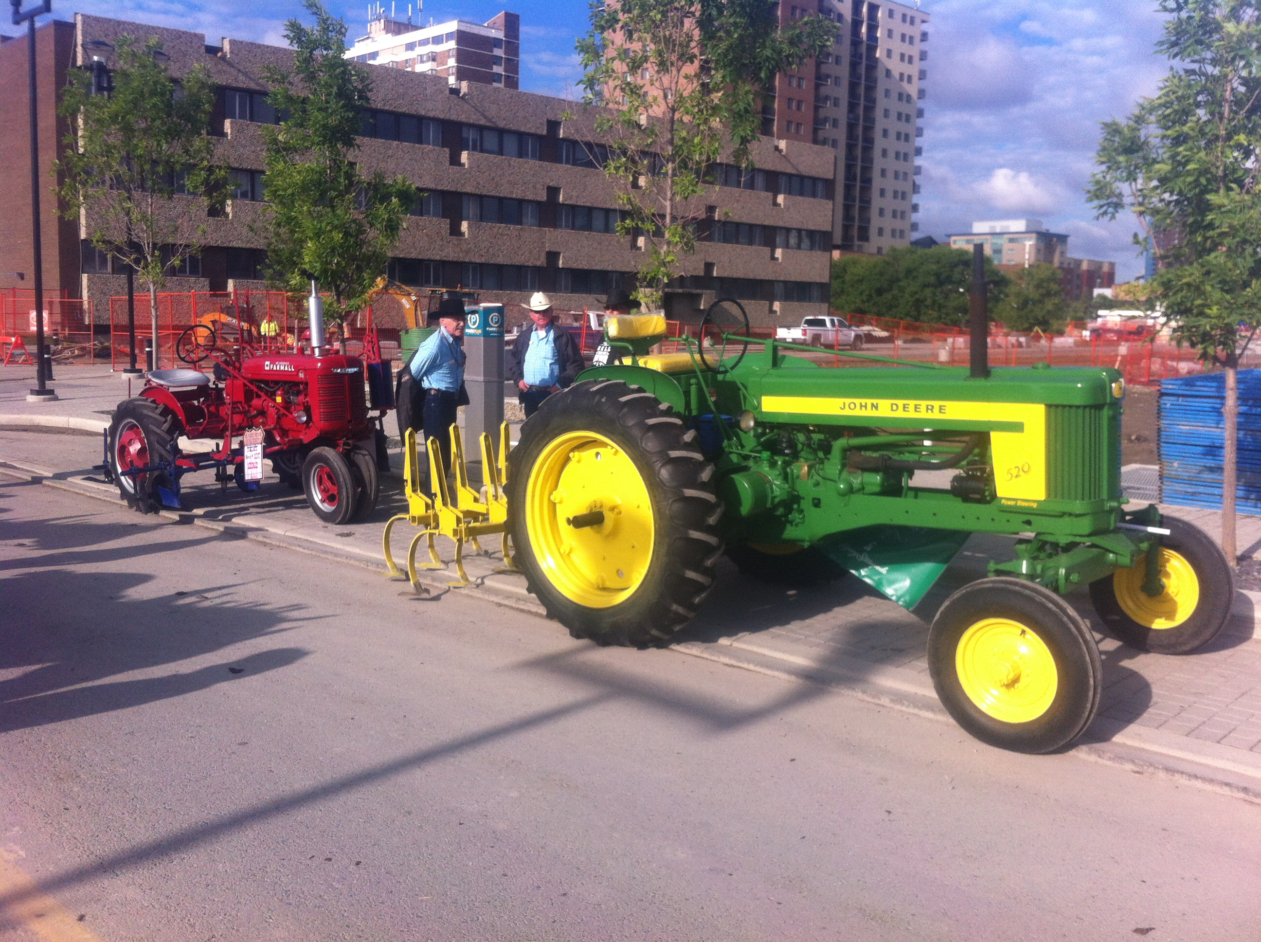 Vintage Tractor Pull Returns To The Calgary Stampede