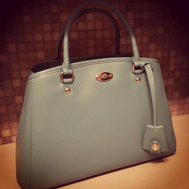 Blue_Coach_bag