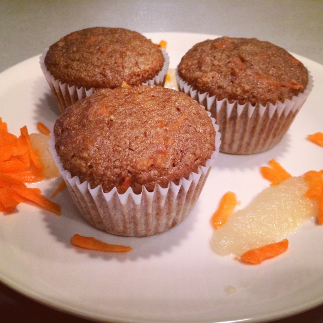 Carrot_Applesauce_Muffins