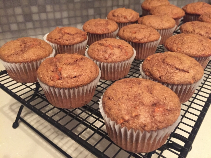 Lentil carrot muffins.
