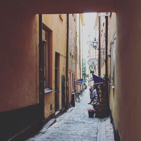 Walked around Old Town Stockholm.