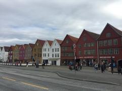 Bryggen Wharf - a UNESCO World Heritage Site.